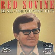 20 All-Time Greatest Hits by Red Sovine (CD, Aug-2002, Teevee Records)