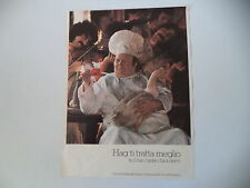 advertising Pubblicità 1975 CAFFE' HAG