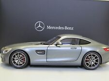 NOREV 2015 MERCEDES AMG GT/S C190 Matt Grey 1:18 Dealer Edition! New Item!