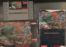 SNES SUPER NINTENDO STREET FIGHTER 2 FORMATO NTSC US/CANADA VERSIONE GIOCO+