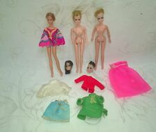 VINTAGE TOPPER DAWN DOLL DOLLS PARTS LOT TLC $8.99