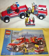 LEGO CITY OFF-ROAD FIRE RESCUE 7942 (2 SETS AVAILABLE)