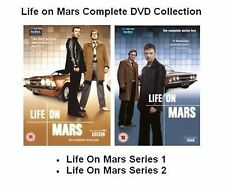 LIFE ON MARS 2011 COMPLETE SERIES 1 2  John Simm, Philip Glenister NEW UK R2 DVD