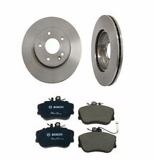 Mercedes-Benz W202 C220 C280 Set of 2 Front Brake Discs and Pads High Quality