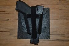 TACTICAL VEHICLE-CAR GUN HOLSTER-- MOUNT IT ANYWHERE-- MADE IN THE USA