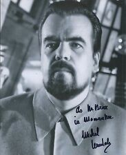 MICHAEL LONSDALE  SIGNED 007 MOONRAKER JAMES BOND 8x10 PHOTO - UACC RD AUTOGRAPH