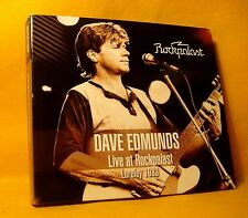 CD Dave Edmunds Live At Rockpalast Loreley 1983 CD + DVD (NTSC) 2014 Pub Rock