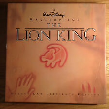 The Lion King Masterpiece Box Set  Laserdisc Deluxe CAV Letterbox Edition