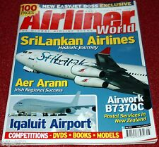 Airliner World 2006 May Aer Arran,SATA,Sri Lankan,Innsbruck
