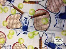RPB95 Tennis Racquet Ball Shoes Sneakers Court Sports Cotton Quilting Fabric