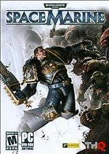 Video Game PC Space Marine Warhammer 40,000 NEW
