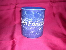 """San Francisco Mug with Seagulls and """"San Francisco"""" Done in White Relief"""