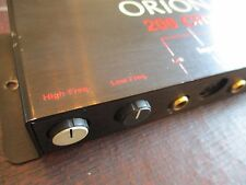 Orion 200 CRX Crossover Rare Old School 2 Way Phantom Power