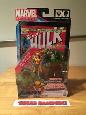 Hasbro Marvel Universe Comics Packs Wolverine Incredible Hulk 181 new misb rare