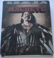 Machete - Blu-ray/Action/Danny Trejo/Steven Seagal/Steelbook/FSK 18