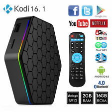 T95z Plus 4K HD Android 6.0 Smart TV Box Amlogic S912 Octa Core 2G/16G WiFi YIDE
