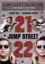 21 & 22 Jump Street Collection (DVD, 2015) Channing Tatum/Jonah Hill!