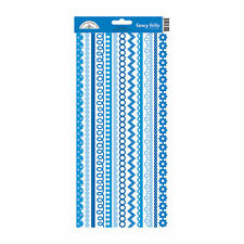 NEW DOODLEBUG BLUEJEAN FANCY FRILLS STICKERS