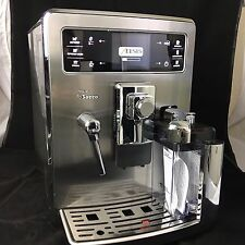 BRAND NEW SAECO SUPER AUTOMATIC ESPRESSO COFFEE MACHINE XELSIS HD8944/47 (110V)