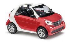 HO Busch 2015 Smart Fortwo Convertible # 50778 (CMD) 1/87 scale Model Car