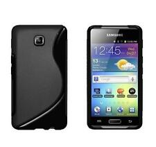 BLACK AMZER HYBRID SOFT TPU RUBBER SKIN CASE COVER FOR SAMSUNG GALAXY PLAYER 4.2
