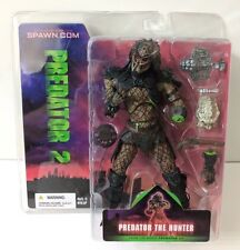 "PREDATOR 2 THE HUNTER 7"" INCH ACTION FIGURE MOVIE MANIACS MCFARLANE TOYS"