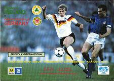 Länderspiel 06.09.1989 Republik Irland - Deutschland