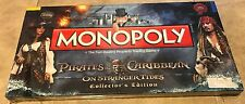 Pirates of the Caribbean Monopoly On Stranger Tides Collectors Edition NEW