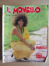 IL MONELLO n°38 1974 Marcella Bella - Speciale Enrico Albertosi [G424]