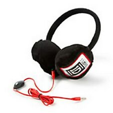One Direction I Love 1D Earmuff Headphones Music Black Red - NWT