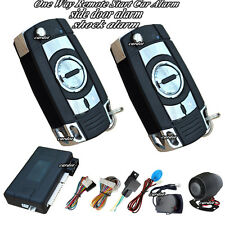 remote start security car alarm motion and shock sensor alarm window up output