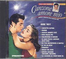 PAOLO LIMITI presenta Canzone Amore mio Anni '40/1 - GIOVANNA NILLA PIZZI - CD