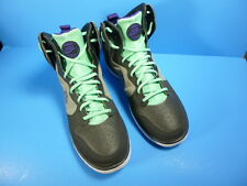 NIKE RETRO HIGH TOP 599466-005 GRAY & GREEN MEN'S SHOES SIZE 10,5 US