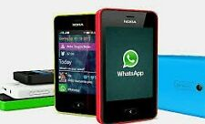 Nokia  Asha 501 Dual SIM - Red - Mobile Phone
