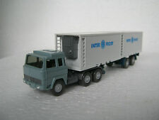 Wiking HO/1:87 522/1 Magirus 235 D Container Inter Frost (CA/38-24S6/72)