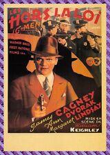 Carte Postale Affiche de Film - LES HORS LA LOI (James Cagney, Margaret Lindsay)