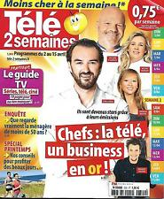 TELE 2 SEMAINES N°320 2 AVRIL 2016  CHEFS/ PROFILAGE/ FALCO/ BARBIE/ PERNAUT