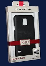 CASE-MATE studio Collection barely there Case for Samsung Galaxy S5 -Black NEW!!