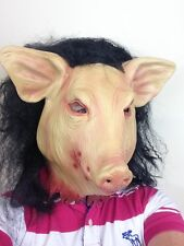 Saw Jigsaw Pig Mask Horror Animal Fancy Dress Halloween Masks