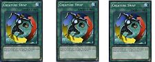 Creature Swap 1st X 3 Mint SDDL / Random Commons
