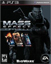 Mass Effect Trilogy 1 2 3 [Playstation 3 PS3 EA Epic Exclusive Saga] Brand NEW