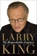 My Remarkable Journey by Larry King (2009, Hardcover) NEW BOOK