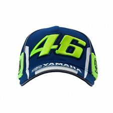 2017 OFFICIAL Moto GP VR46 Valentino Rossi Team Yamaha 46 Cap Hat – NEW