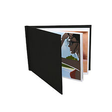 "Pinchbook Photo Album (8.5"" x 11.75"") (A4 Landscape) Black, No Window"