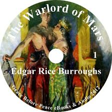 The Warlord of Mars, Sci-Fi Audiobook by Edgar Rice Burroughs on 6 Audio CDs
