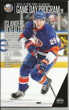 NEW YORK ISLANDERS MARCH 2014 DIGEST PROGRAM BROCK NELSON CASEY CIZIKAS