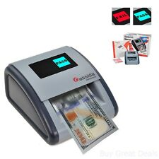 Automatic Money Counterfeit Detector Paper Bills Checker IR MG UV Scanner New