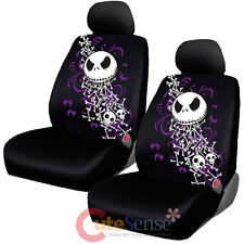 Nightmare Before Christmas Bones Car Seat Cover NBC Low Back Jack Auto Accessory