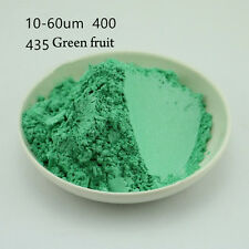 10g Natural Mica Pearl Powder Pigment Soap Candle Cosmetic Colorant Green435#