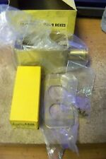 NOS Hubbel 6192 Above Floor Box With Receptacle